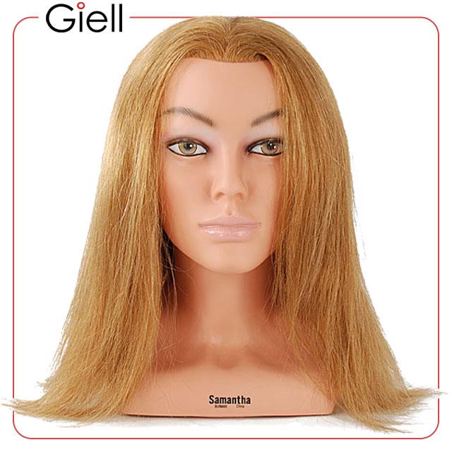 23 Cosmetology Mannequin Head 100% Human Hair   Sam 4