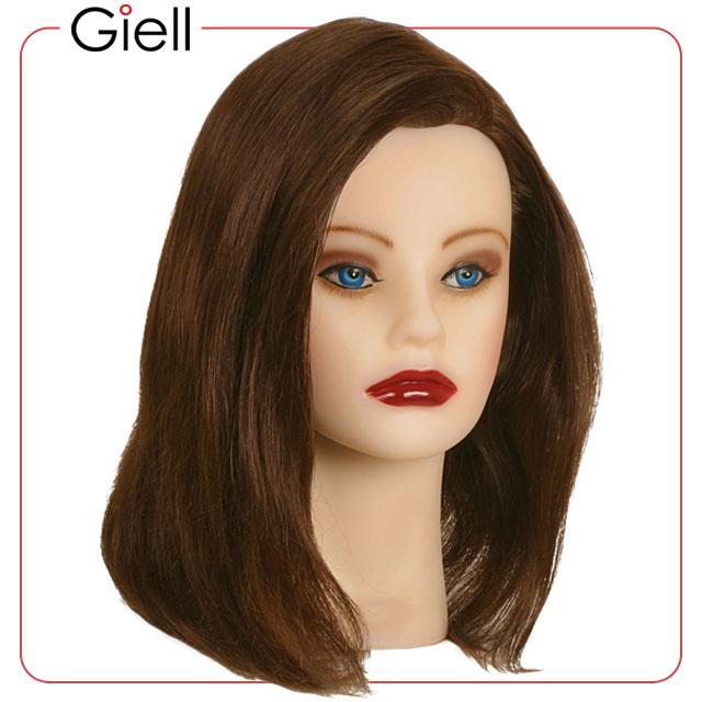 Premium Cosmetology Mannequin Head Virgin Hair Courtney