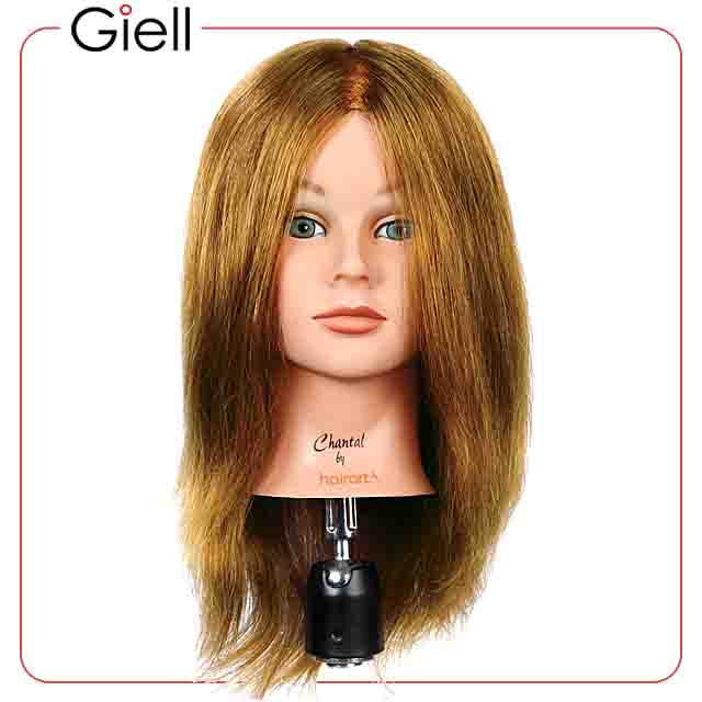 Cosmetology Mannequin Head Human Virgin Hair Chantal Lb