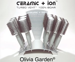 Olivia Garden Ceramic Ionic Hair Brush Series