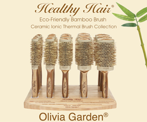 Olivia Garden Healthy Hair Bamboo Brush Series