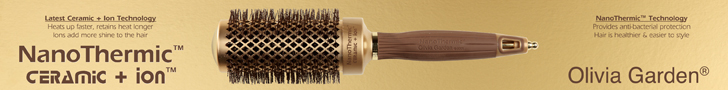 Olivia Garden Nano Thermic Brush Series